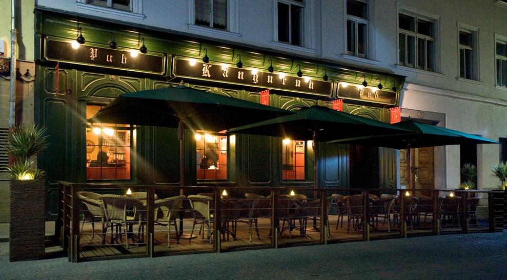 the Känguruh Pub in Vienna, Austria offers one of the largest amount of different beers