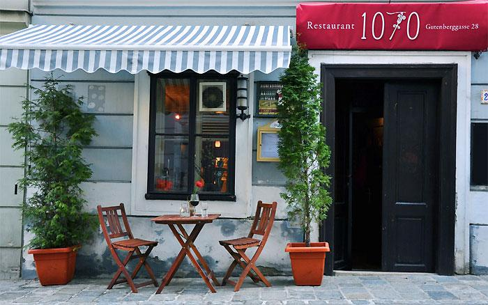 our secret insider tip for a special menu: 1070 restaurant
