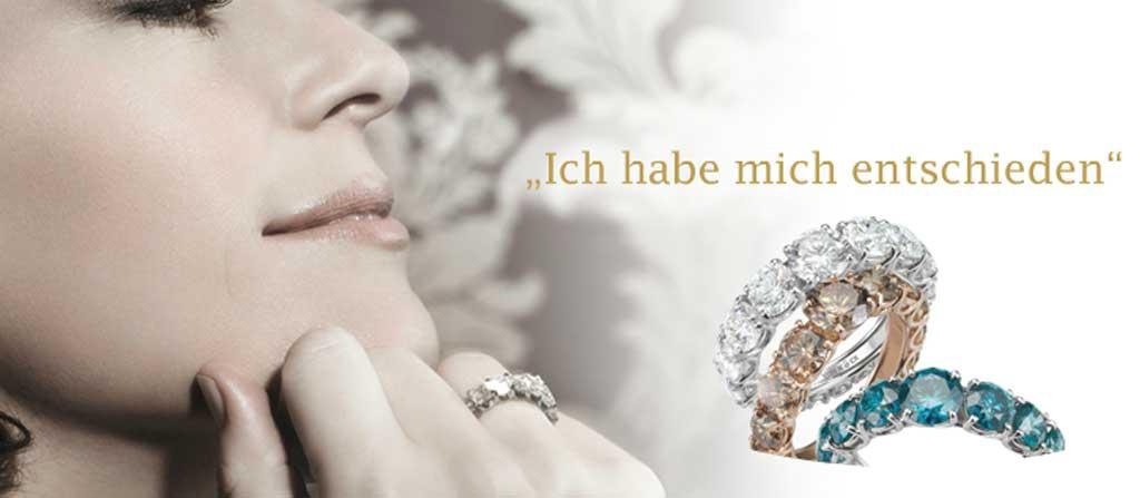 Our inder tip Von Köck offers exclusive jewls and high consultation service